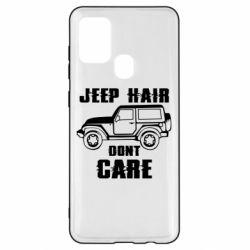 Чохол для Samsung A21s Jeep hair don't care