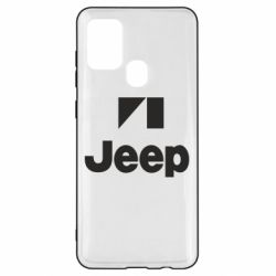 Чехол для Samsung A21s Jeep Logo