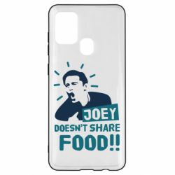 Чехол для Samsung A21s Joey doesn't share food!