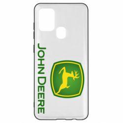 Чохол для Samsung A21s John Deere logo