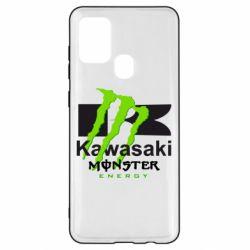 Чохол для Samsung A21s Kawasaki Monster Energy