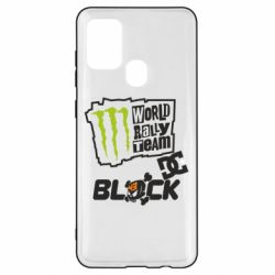Чохол для Samsung A21s Ken Block Monster Energy