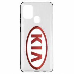 Чохол для Samsung A21s KIA 3D Logo