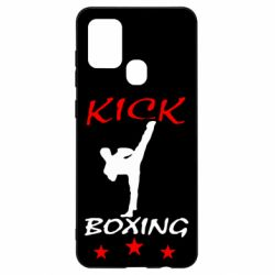 Чохол для Samsung A21s Kickboxing Fight