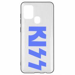 Чехол для Samsung A21s Kiss Logo