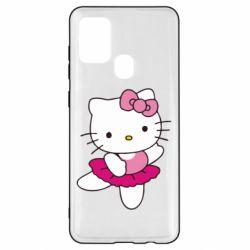 Чехол для Samsung A21s Kitty балярина