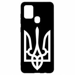 Чехол для Samsung A21s Класичний герб України