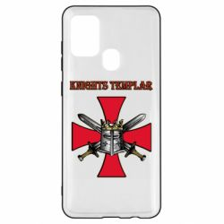 Чохол для Samsung A21s Knights templar helmet and swords