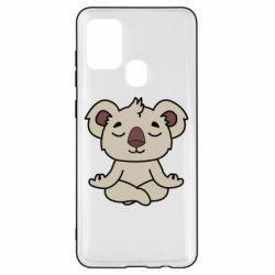 Чехол для Samsung A21s Koala