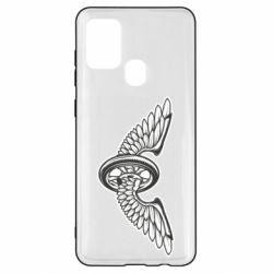 Чохол для Samsung A21s Колесо та крила