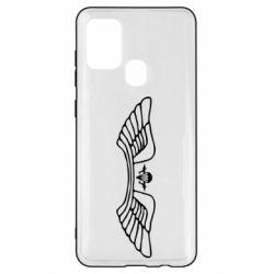 Чохол для Samsung A21s Крила десанту