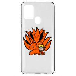 Чохол для Samsung A21s Kurama And Naruto