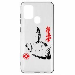 Чохол для Samsung A21s Kyokushin Kanku logo