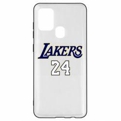 Чехол для Samsung A21s Lakers 24
