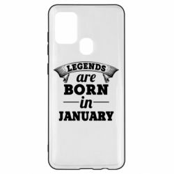 Чехол для Samsung A21s Legends are born in January