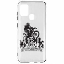 Чохол для Samsung A21s Legends motorcycle
