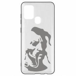 Чехол для Samsung A21s Лице козака