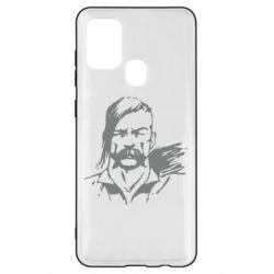 Чохол для Samsung A21s Лице українського козака