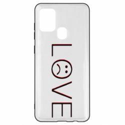 Чохол для Samsung A21s lil peep: love
