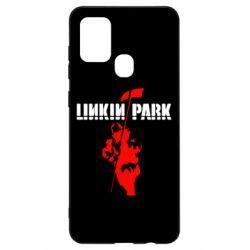 Чехол для Samsung A21s Linkin Park Album
