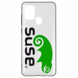 Чехол для Samsung A21s Linux Suse