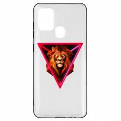 Чохол для Samsung A21s Lion art