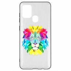 Чехол для Samsung A21s Lion vector