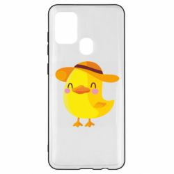 Чехол для Samsung A21s Little chicken