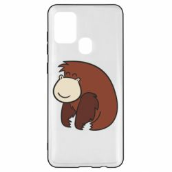Чехол для Samsung A21s Little monkey