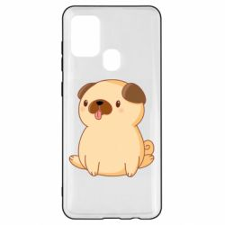 Чехол для Samsung A21s Little pug