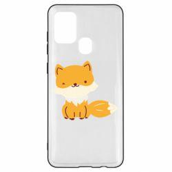Чехол для Samsung A21s Little red fox