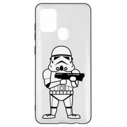 Чохол для Samsung A21s Little Stormtrooper