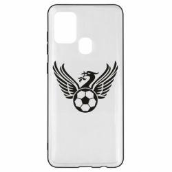 Чохол для Samsung A21s Liverpool and soccer ball