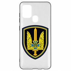 Чехол для Samsung A21s Логотип Азов