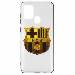 Чохол для Samsung A21s Логотип Барселони