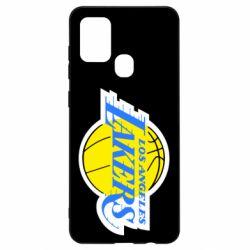 Чехол для Samsung A21s Los Angeles Lakers