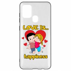 Чохол для Samsung A21s love is...happyness
