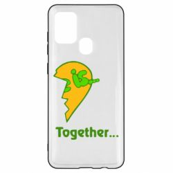 Чохол для Samsung A21s Love is...Together