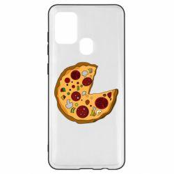 Чохол для Samsung A21s Love Pizza
