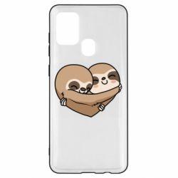 Чохол для Samsung A21s Love sloths