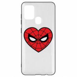 Чохол для Samsung A21s Love spider man