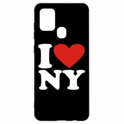 Чохол для Samsung A21s Люблю Нью Йорк