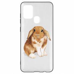 Чохол для Samsung A21s Маленький кролик