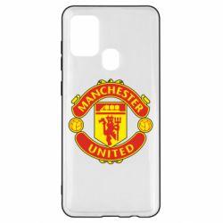 Чохол для Samsung A21s Манчестер Юнайтед