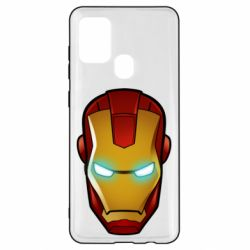 Чехол для Samsung A21s Маскаа Железного Человека