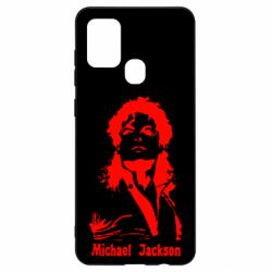 Чехол для Samsung A21s Майкл Джексон