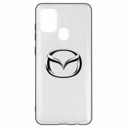 Чехол для Samsung A21s Mazda 3D Logo