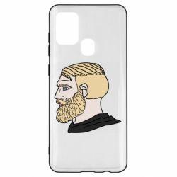 Чохол для Samsung A21s Meme Man Nordic Gamer