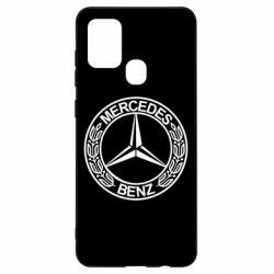 Чохол для Samsung A21s Mercedes Логотип
