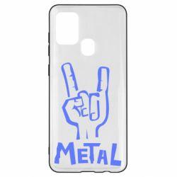 Чехол для Samsung A21s Metal